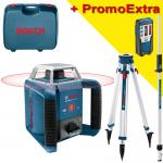 BOSCH GRL 400 H Nivela laser rotativa (400 m) +  BT 170 Trepied + GR 240 Rigla