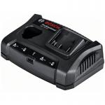 BOSCH GAX 18V-30 Incarcator dublu Li-Ion de 3Ah, 12V-18V + port USB
