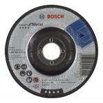 BOSCH  Disc slefuire/degrosare metal 125x6 (10 bucati)