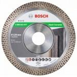 BOSCH  Disc diamantat gresie 125 BEST