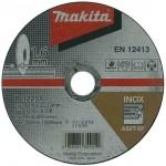 MAKITA  Set 10 discuri taiere inox 125x1 mm