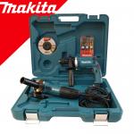 MAKITA DK0050X1 Kit 2 scule (GA5030R Polizor unghiular + HP1631 Masina de gaurit cu percutie) + accesorii