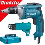 MAKITA FS6300JX2 Masina de insurubat electronica 570 W + Magazie de suruburi + Makpac