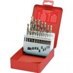 CROMWELL  Set 19 burghie otel/inox HSS-CO 1-10mm