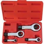 CROMWELL  Taietor de piulite - Set 9-27 mm STEEL NUT SPLITTERS (Set de 4)
