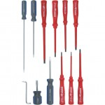 CROMWELL  Set surubelnite cu Maner Combinat si Canelat VDE & ENGINEERS SCREWDRIVER SET 12 piese