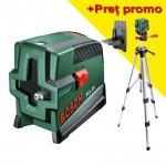 BOSCH PCL 20 Nivela laser cu functie fir cu plumb + Stativ