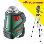 BOSCH PLL 360 Nivela laser autonivelanta cu linii la 360° + Stativ