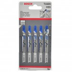 BOSCH T118A Set 5 panze Basic for Metal 92 mm