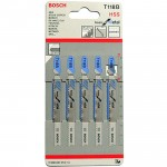 BOSCH T118B Set 5 panze Basic for Metal 92 mm