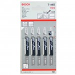 BOSCH T119B Set 5 panze Basic for Wood 92 mm
