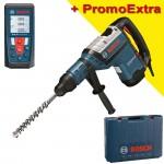BOSCH GBH 8-45 D Ciocan rotopercutor SDS-max 1500 W, 12,5 J + GLM 50 Telemetru cu laser