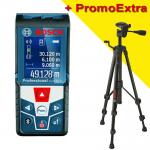 BOSCH GLM 50 C Telemetru cu laser (50 m) cu Bluetooth + BT 150 Stativ